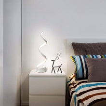 Load image into Gallery viewer, Spiral LED Table Lamp