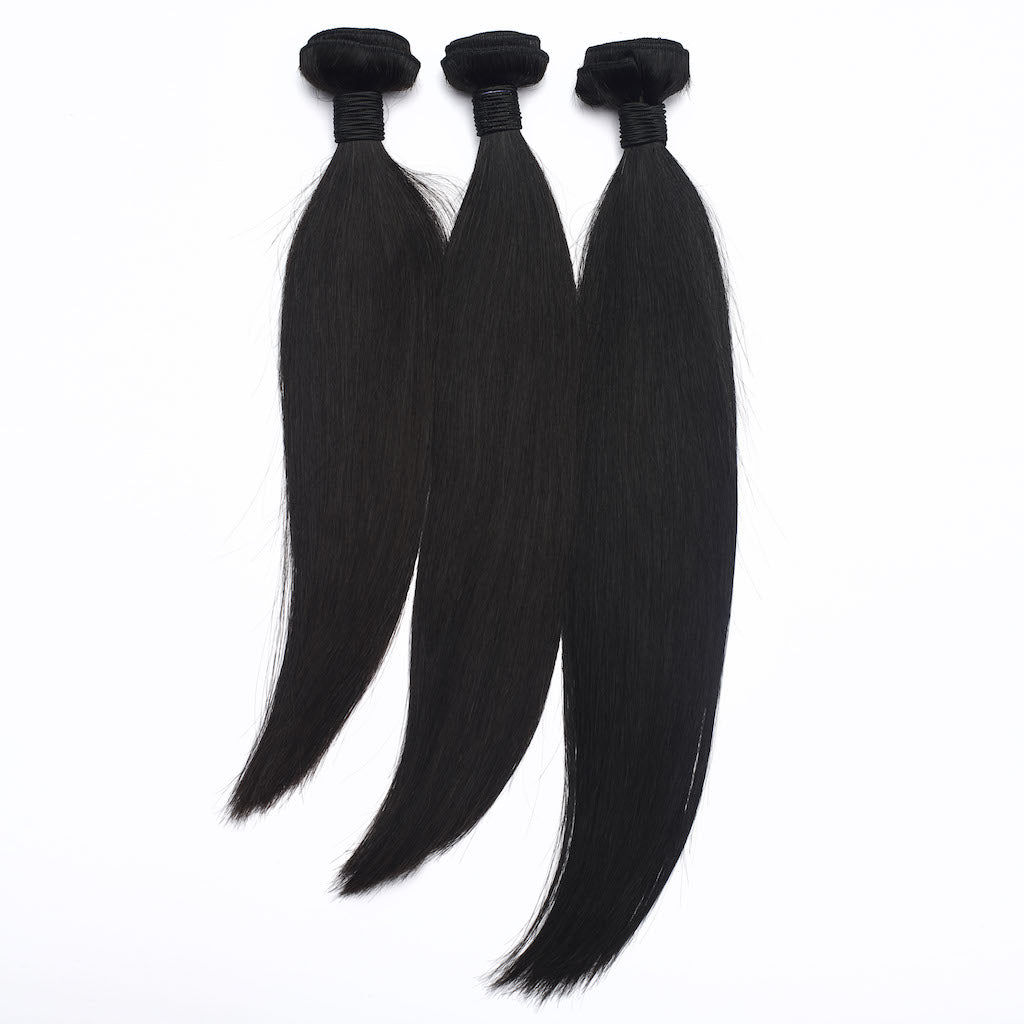 Malaysian Straight Hair 3 Bundle Deal