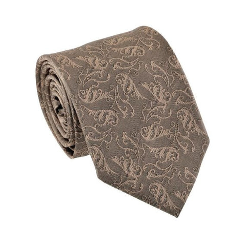 Truly Madly Deeply Moccha Patterned Tie