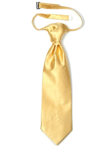 Eiffel Gold Silk Wedding Cravat
