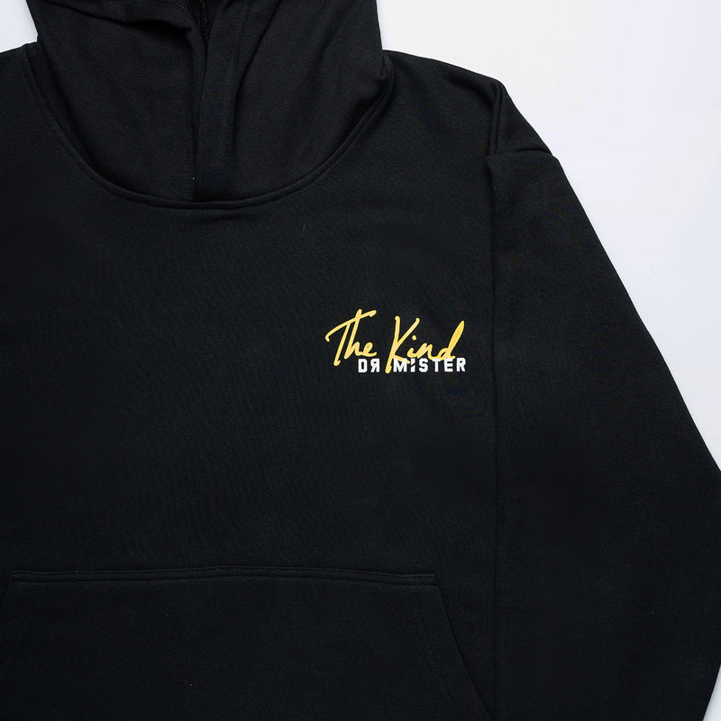 """The Kind"" Scallop Hoodie - Black Limited"