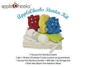 AppleCheeks Bamboo Starter Kit