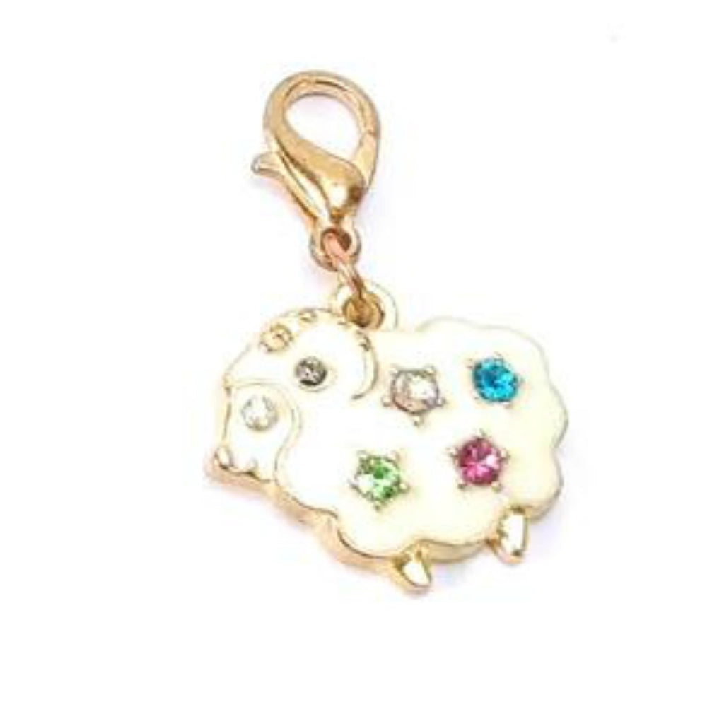 Elegant Sheep </br> Stitch Marker (Single):Stitch Markers,Slipped Stitch Studios:Slipped Stitch Studios