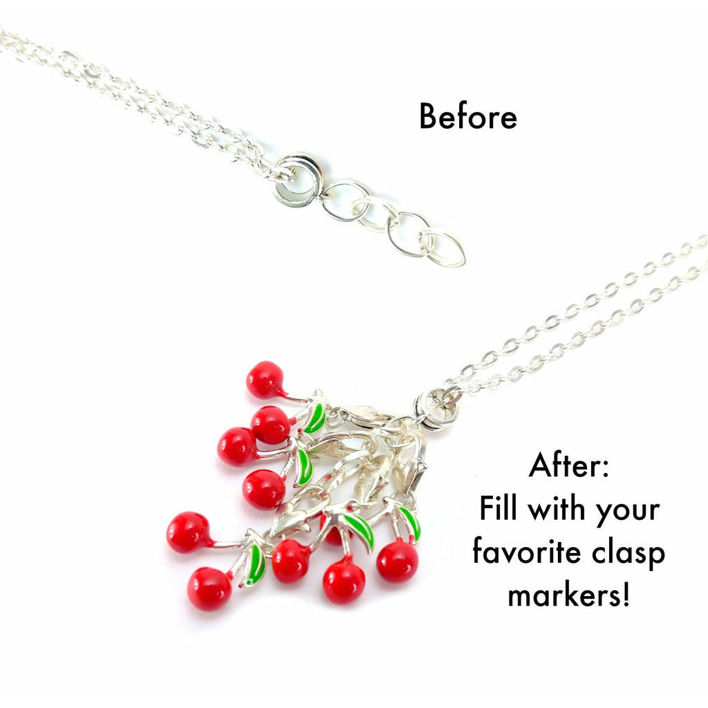 She Believed She Could So She Did </br> Stitch Marker (Single):Stitch Markers,Slipped Stitch Studios:Slipped Stitch Studios