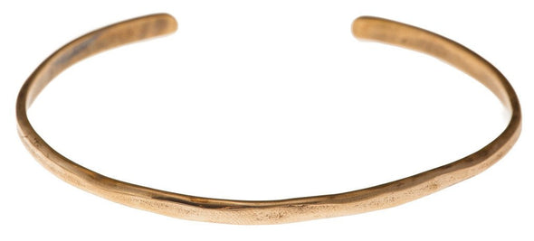 """Gather Paradise"" Cuff Bracelet in Bronze - Emily Dickinson ""I Dwell in Possibility"" by Marla Studio - ModernTribe - 1"