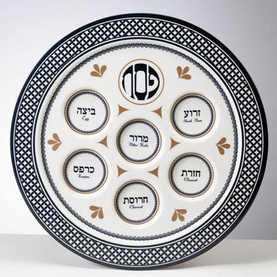 Value Melamine Seder Plate - Case of 24 by Rite Lite - ModernTribe