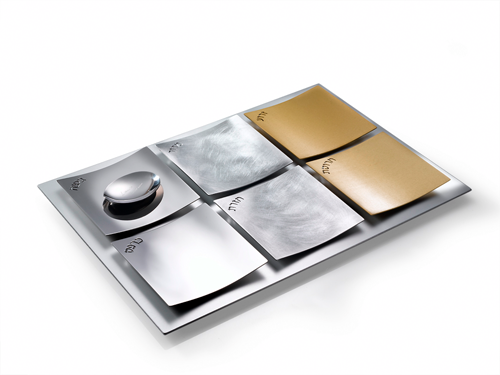 Dune Seder Plate - Mixed Metals by Laura Cowan - ModernTribe - 3