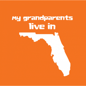 My Grandparents Live in Florida T-shirt