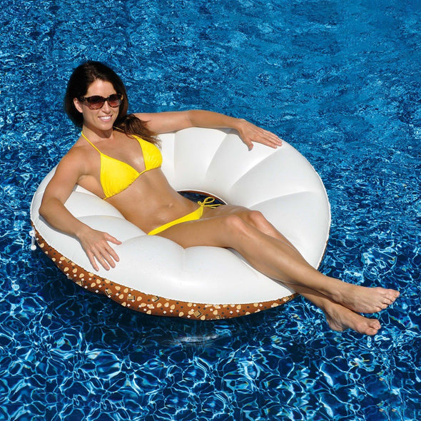 Everything Bagel Pool Float - 45in