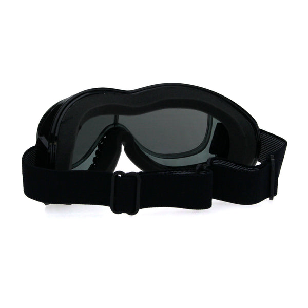 Mens Retro Motorcycle Foam Padded Windbreaker Goggle