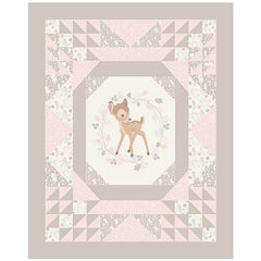 Baby Bambi Quilt Panel to sew - QuiltGirls®
