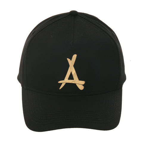 Tha Alumni Presidential 24K Curved Adjustable Hat - Black, Gold