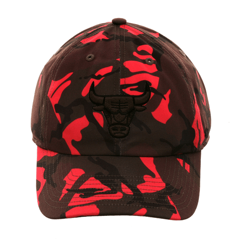 47 Brand Chicago Bulls Camouflage Neon Adjustable Hat - Camouflage