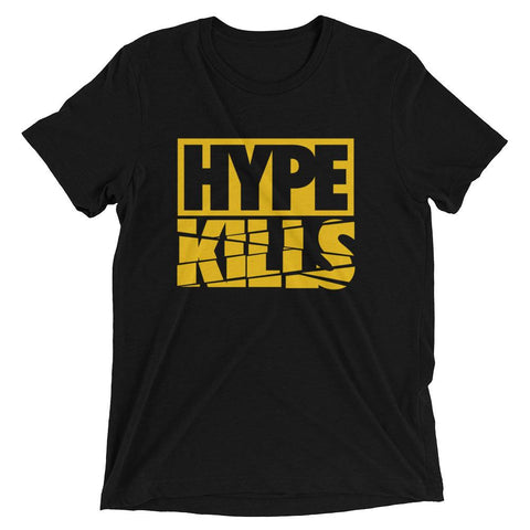 Savage Hype Kills Black and Gold Standard Fit Tee