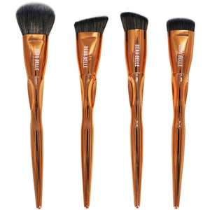Metallic Sculpting Set - 4 Piece - Beau Belle Brushes