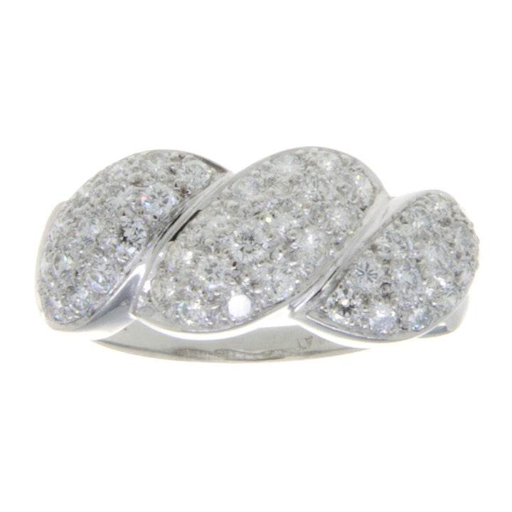 Platinum 1.50ct Diamond Band Ring