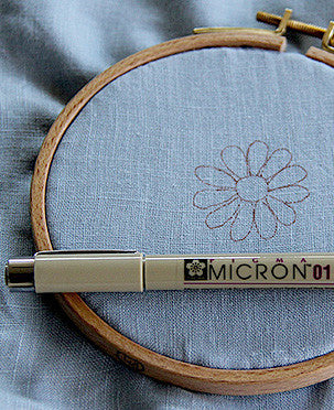 Pigma Micron 01 Marker, 0.25mm Line in Brown