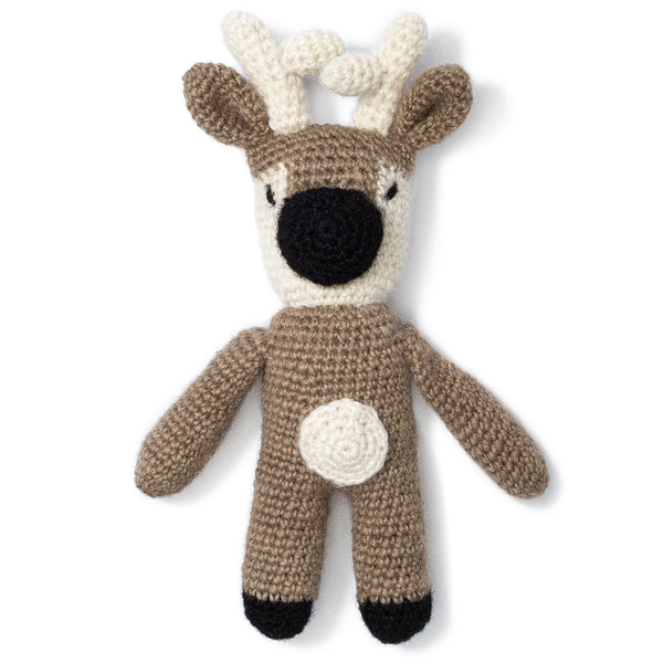 Reindeer Knit Toy