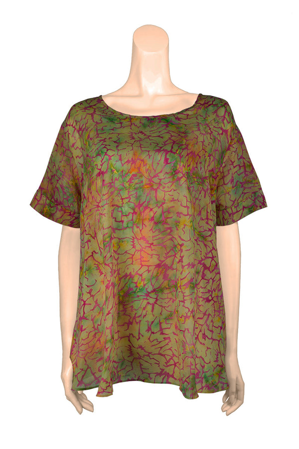 Top Blouse Bell Shape