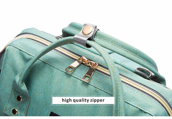 "alt=""Diaper bag zipper"""