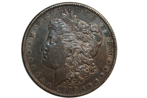 SALE 1886-P U.S. Morgan Silver Dollar (123LOR-COIN)