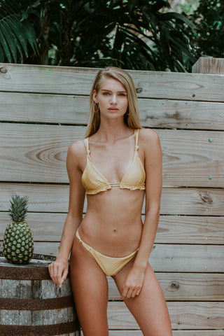 Canary Black Bikini Set