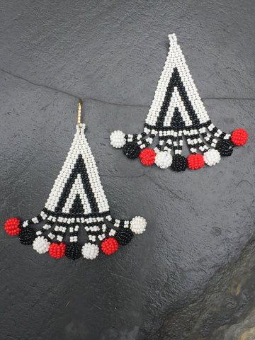 Xhosa Tribal Tri Earring