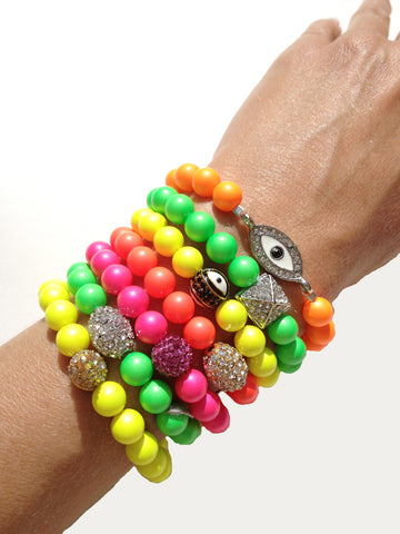 Stretch Bracelets with Charms