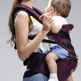 AIEBAO Baby Carrier Breathable Multi-functional Baby Hip Seat