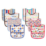 Mother Nest Baby Bibs Luvable Friends Water Resistant 4 Pack