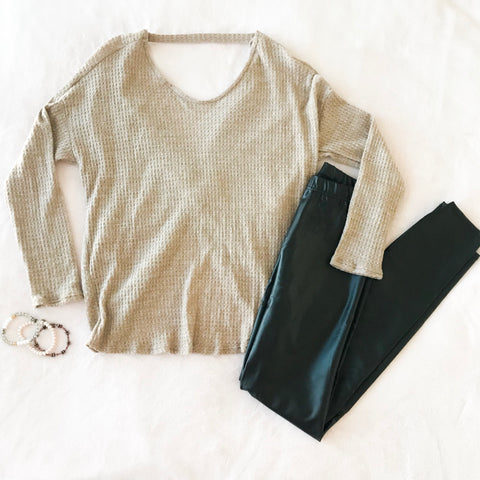 Twist-Back Thermal Top