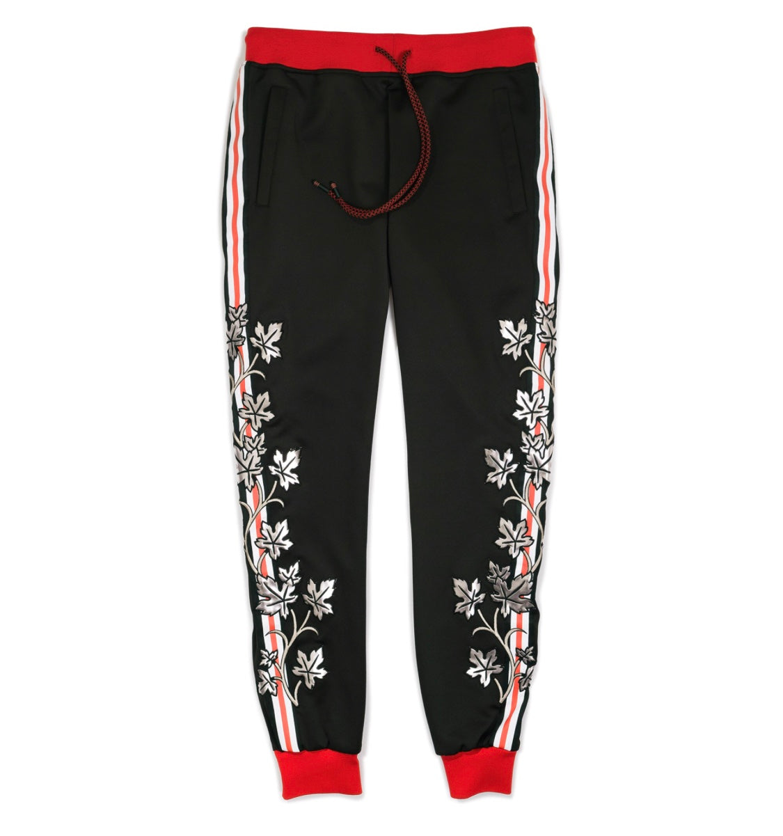 Reason Vines Track Pant in Black