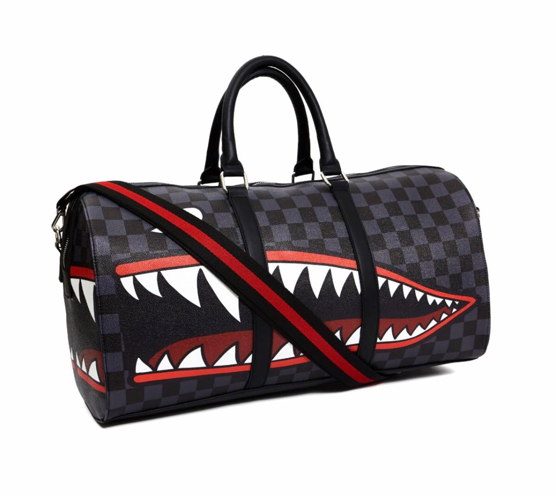 Reason Checker Face Duffle Bag (Pre-Order)