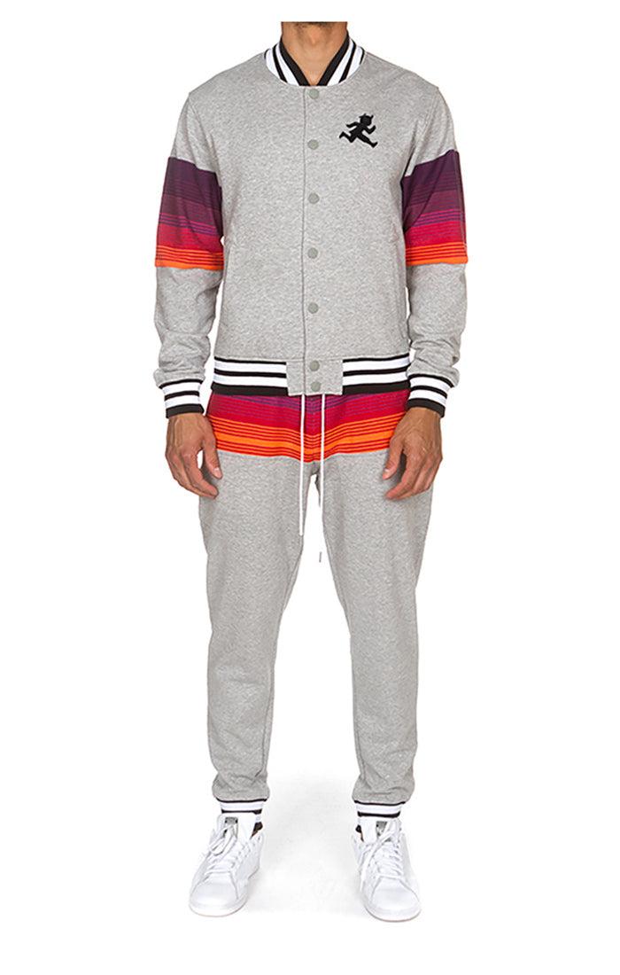 PLAY CLOTHS NIGHT SKY SWEATSUIT (HEATHER GREY)