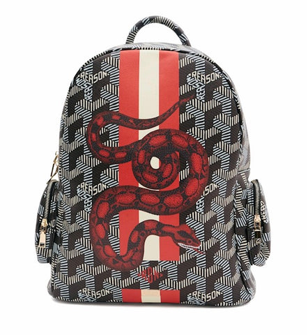 REASON Abstract Snake Backpack