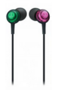 Audio-Technica Dip Earbuds Pink/Green