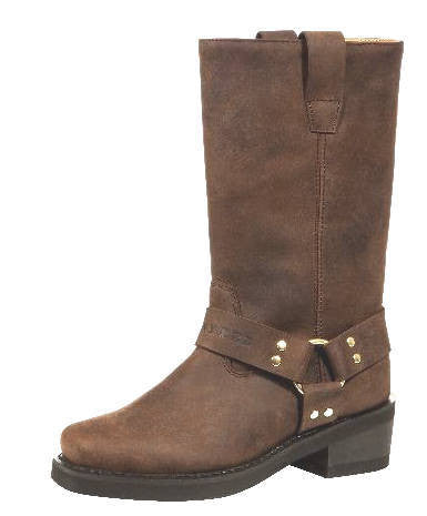 Johnny Reb Classic Long Brown Leather Boots JR20001 Famous Rock Shop Newcastle 2300 NSW Australia