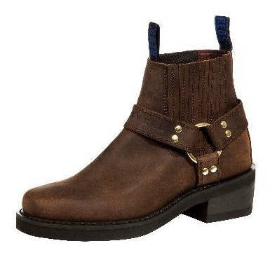 Johnny Reb Classic Short Brown Leather Boots JR20000 Famous Rock Shop Newcastle 2300 NSW Australia
