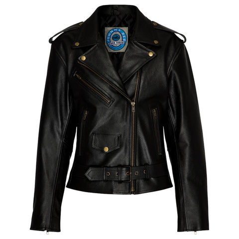 Johnny Reb Savannah Jacket Ladies Black Leather Jacket JRJ10012 Famous Rock Shop Newcastle 2300 NSW Australia