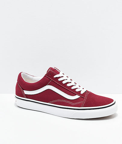 Vans Old Skool Rumba Red True White Canvas & Suede VN0A38G1VG4