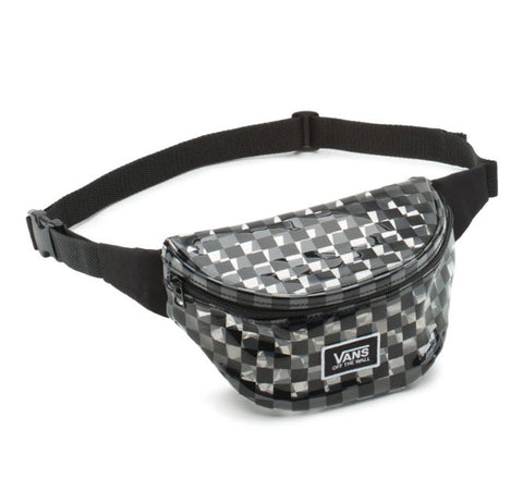 Vans Clear Out Fanny Bag Black Checkerboard VNA3Z7NBKC Famous Rock Shop Newcastle, 2300 NSW. Australia. 1