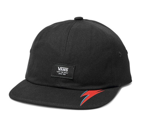 Vans X David Bowie Aladdin Sane Jockey Hat VNA3I4GBLK Famous Rock Shop Newcastle, 2300 NSW. Australia. 1