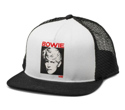 Vans X David Bowie Serious Moonlight Trucker Hat VNA3I4FYB2 Famous Rock Shop Newcastle, 2300 NSW. Australia. 1