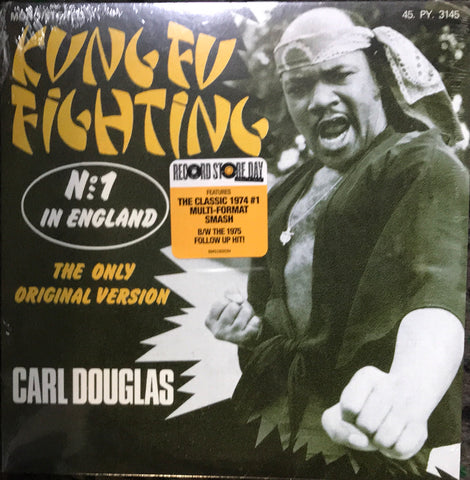 Carl Douglas Kung Fu Figting Record Store Day 7 Inch Vinyl Record Famous Rock Shop Newcastle 2300 NSW Australia