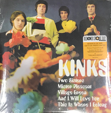 Kinks Record Store Day 7 Inch Vinyl Record