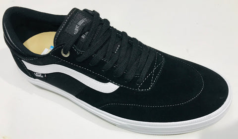 Vans Gilbert Crockett Pro Skate Shoes Black White VN0A38COY28 Famous Rock Shop Newcastle 2300 NSW Australia