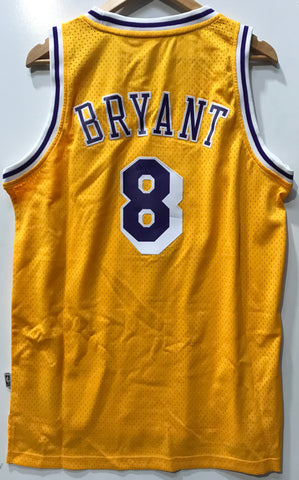 Adidas Intel Retired Mesh Jersey NBA Los Angeles Lake Bryant #8