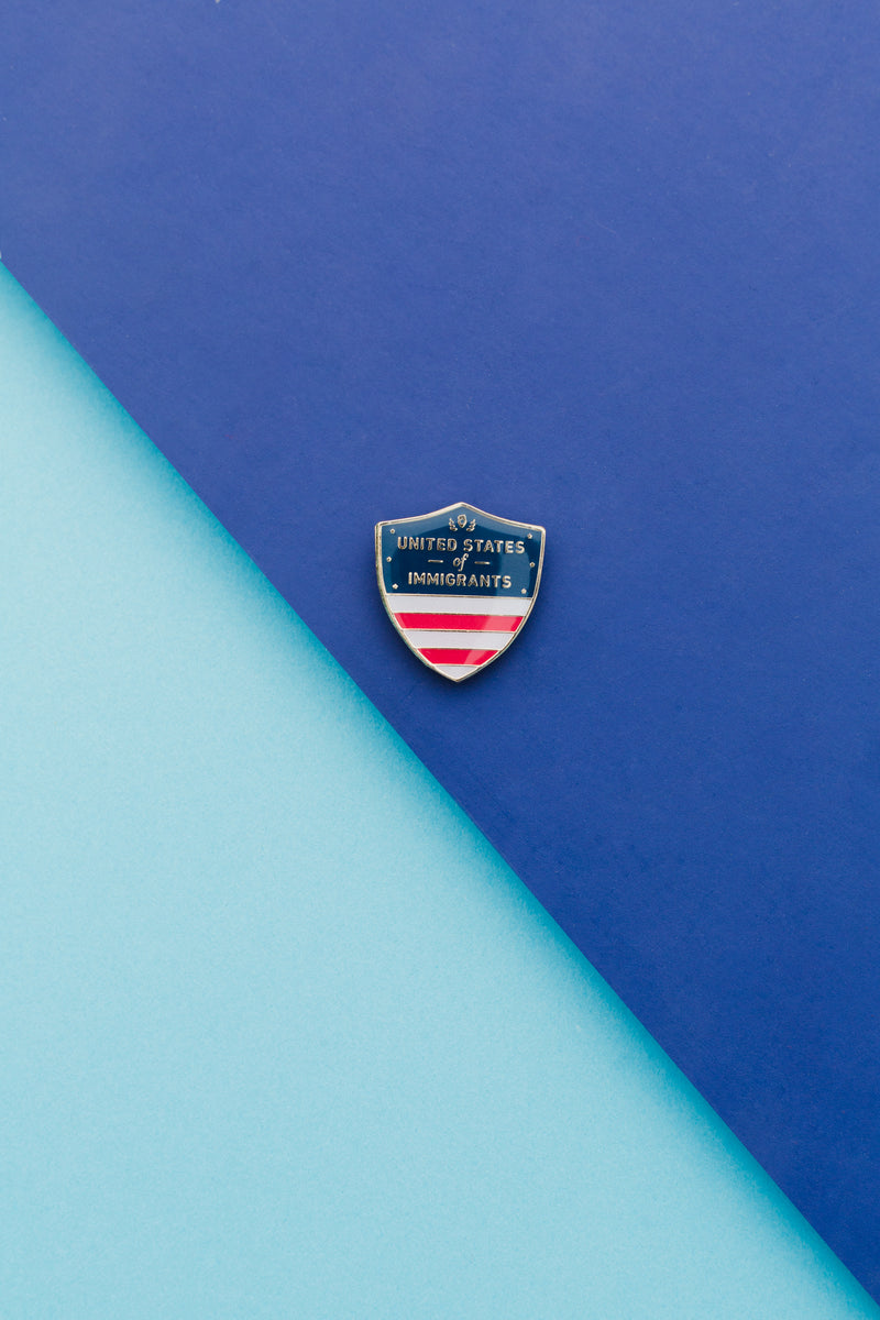 United States of Immigrants Pin