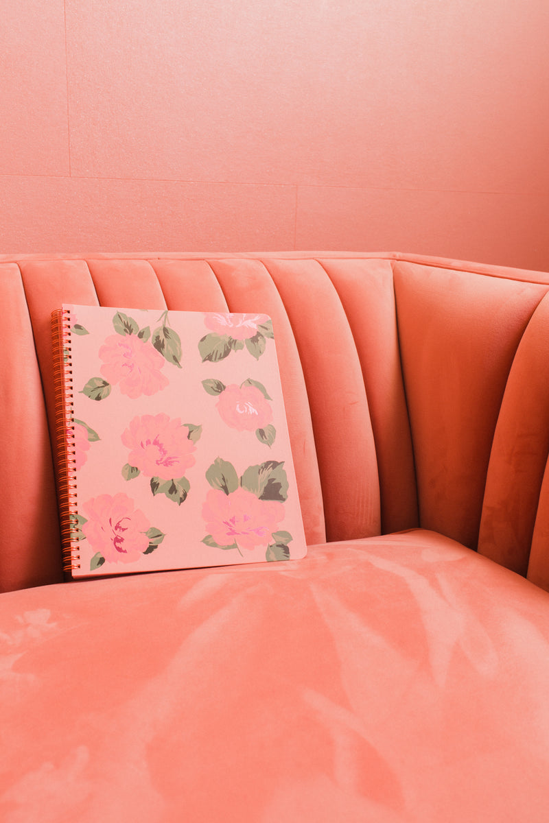Bellini Large Floral Notebook