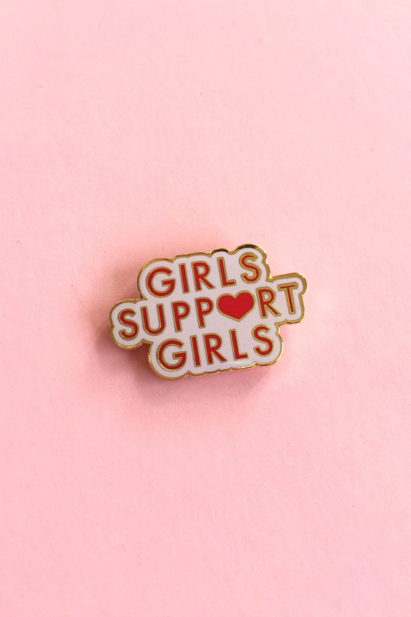 Girls Support Girls Pin Pins Daisy Natives - Hello Holiday